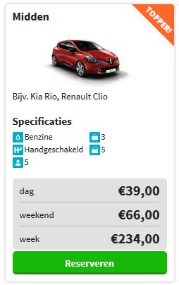goedkoop auto huren utrecht